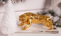 Статуэтка тигр золотой