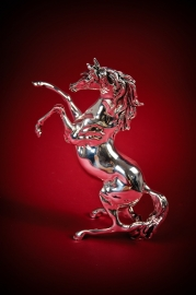 Статуэтка Лошадь серебряная малая